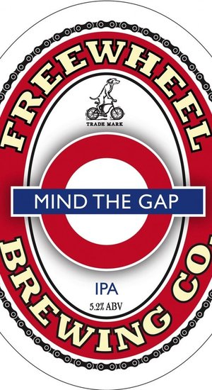Freewheel Brewing Mind the Gap IPA