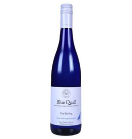 Organic McFadden Blue Quail Riesling Potter Valley 2015