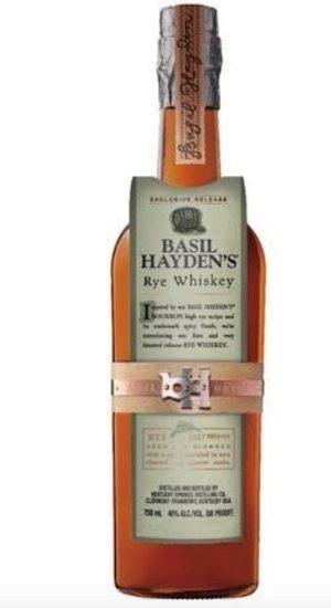Basil Hayden Rye Whiskey