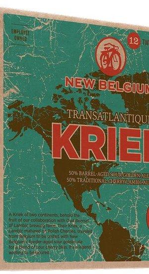 New Belgium Lips of Faith Transatlantique Kriek Collab w/ Oud Beersel