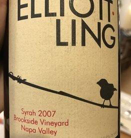 Elliott-Ling Syrah, Brookside Vyd, Napa 07