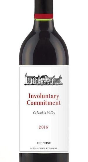 Involuntary Comittment Columbia Valley Red Wine 16