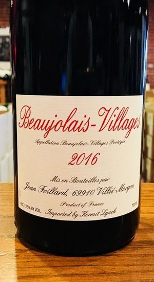 Jean Foillard Beaujolais-Villages 16
