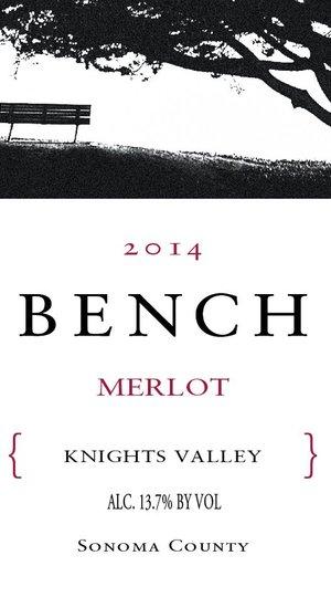 Bench Merlot Knights Valley 15