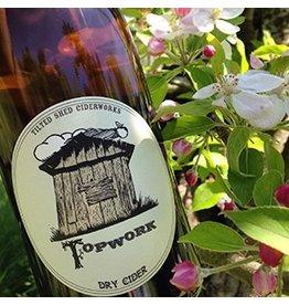 Organic Tilted Shed Topwork Dry Cider