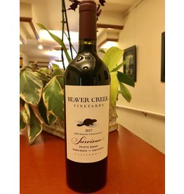 Biodynamic & Natural Beaver Creek Petite Sirah 'Survivor' Horne Ranch Lake County 17`