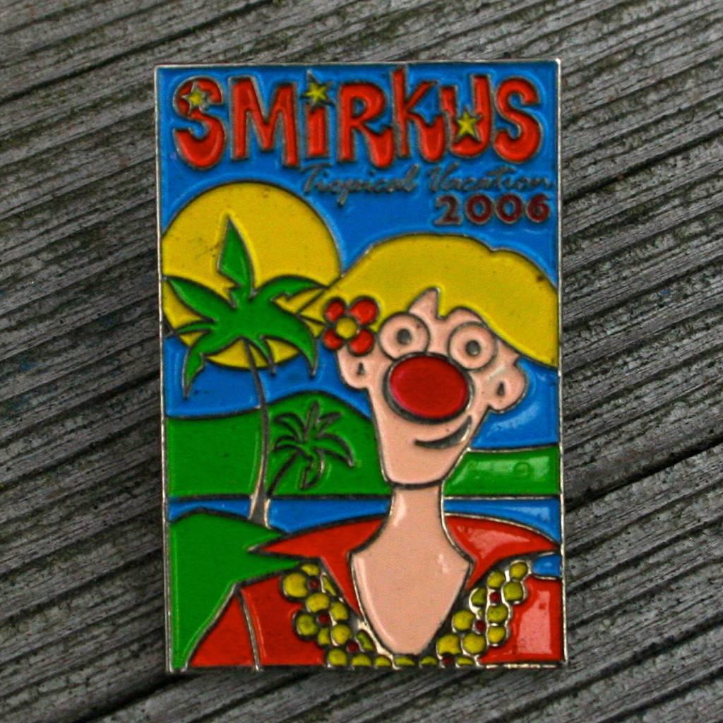 2006 Tropical Vacation Pin