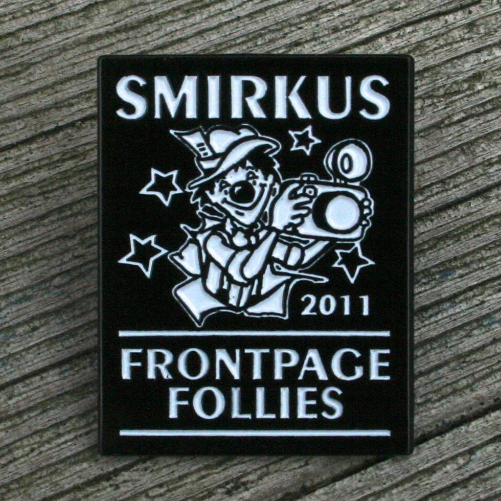 2011 Frontpage Follies Pin