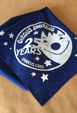 25th Anniversary Smirkus Bandana Blue