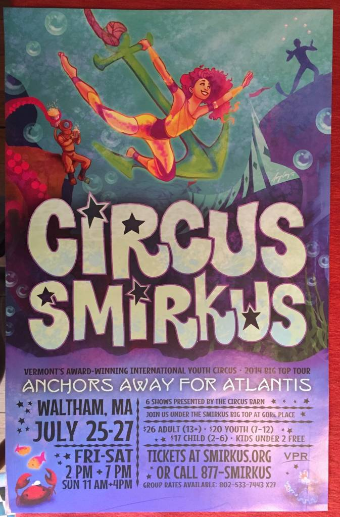 2014 Tour Poster - Anchors Away for Atlantis!