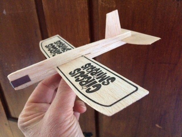 Balsa Airplane Glider