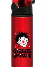 Smirkus Red Water Bottle (metal)
