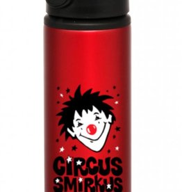 Smirkus Red Water Bottle (metal)