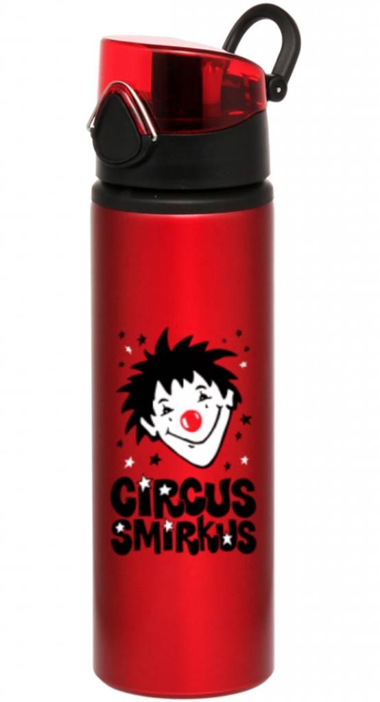 Smirkus Red Water Bottle