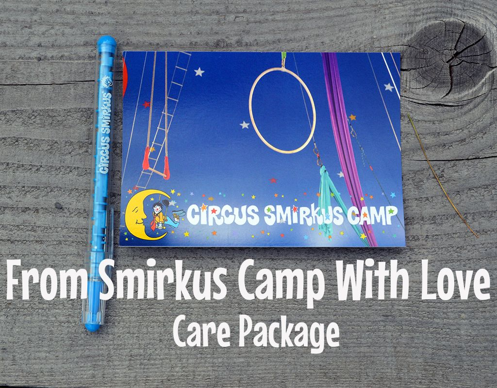 From Smirkus Camp with Love Care Package