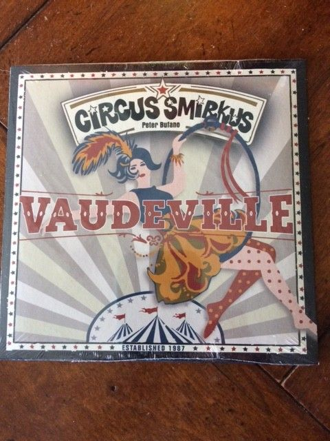 2018 Vaudeville Music CD