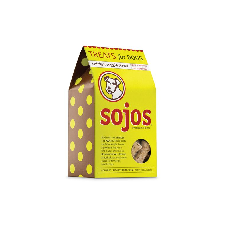Sojos SOJOS CHICKEN VEGGIE TREATS