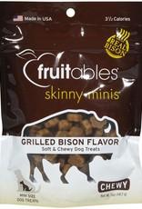 Fruitables Fruitables Skinny Minis Grilled Bison Flavored 5oz