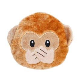 Zippy Paws Monkey Emoji Toy