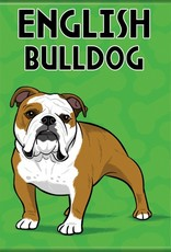 Independent English Bulldog Magnet