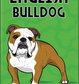 Independent English Bulldog Magnet