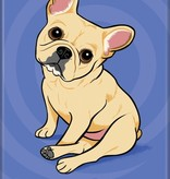 Independent French Bulldog Magnet