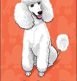 Independent Poodle Magnet