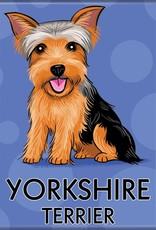 Independent Yorkshire Terrier Magnet