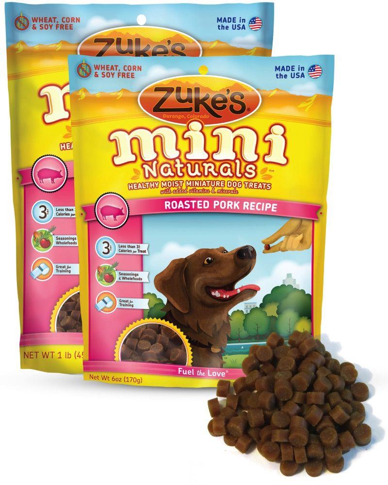 Zukes Mini Naturals Pork