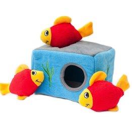 Zippy Paws Aquarium Burrow Toy
