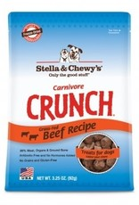 Stella & Chewy's Carnivore Crunch Beef Recipe Treats