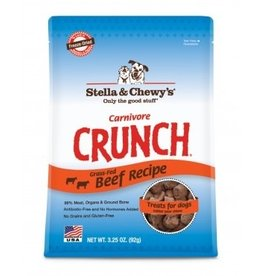 Stella & Chewy's Carnivore Crunch Beef Recipe Treats