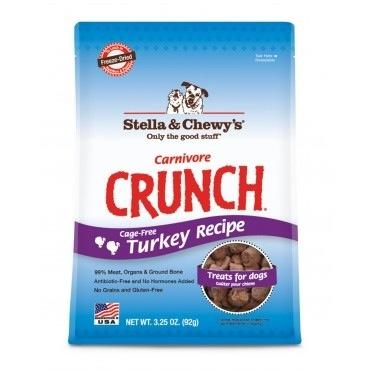 Stella & Chewy's Carnivore Crunch Turkey Recipe Treats