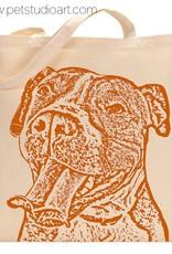 "Pit Bull ""Buttercup"" Tote Bag"