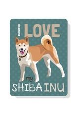 Independent Shiba Inu Sign