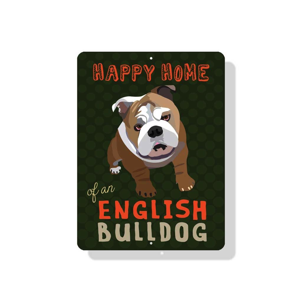 Independent Bulldog Sign