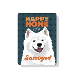 Independent Samoyed Sign