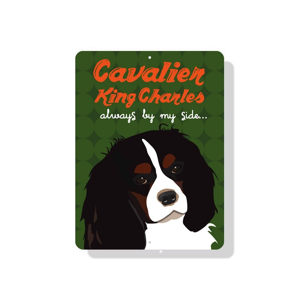 Independent King Charles Cavalier Sign
