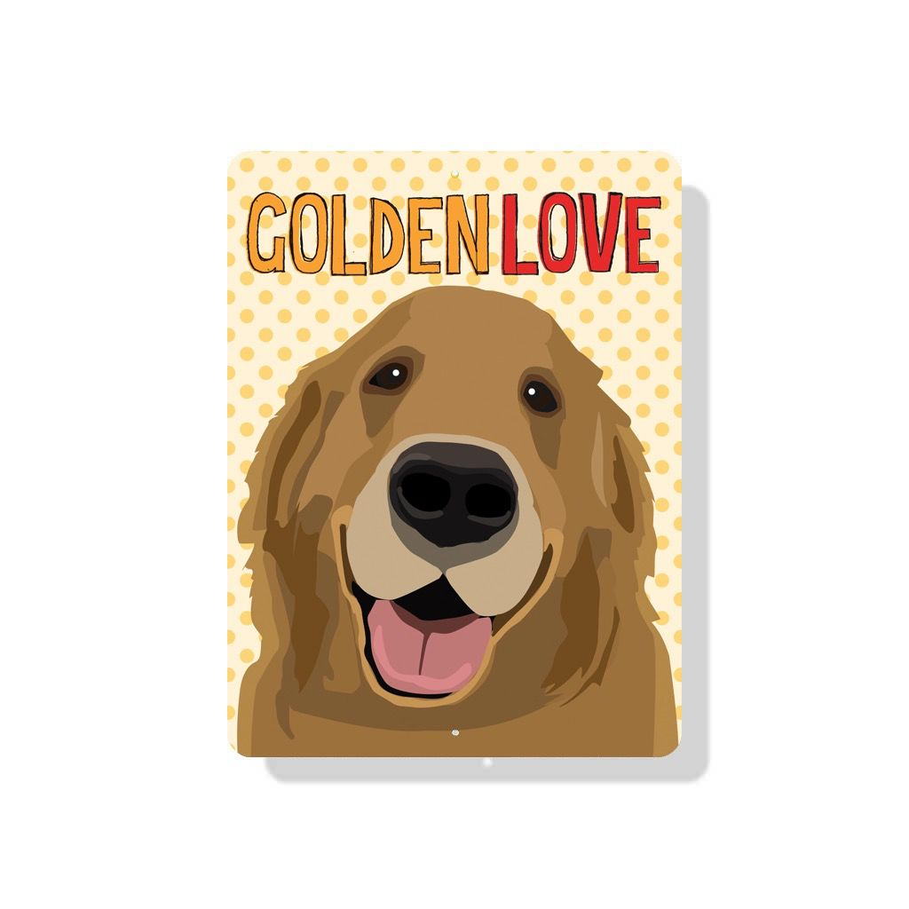 Independent Golden Love Sign