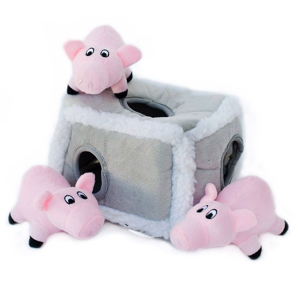 Zippy Paws Pig Pen Burrow Toy