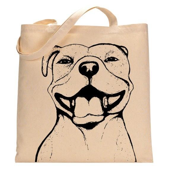 "Pit Bull ""Grace"" Tote Bag"