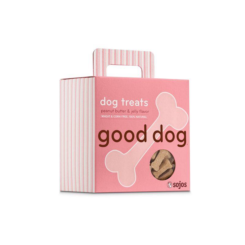 Sojos SOJOS GOOD DOG PB & J TREATS