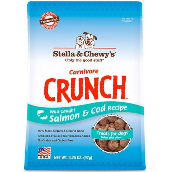 Stella & Chewy's Carnivore Crunch Salmon & Cod Recipe Treats