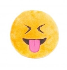 Zippy Paws Tongue Out Emoji Squeakie Toy
