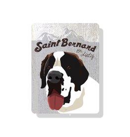 Independent Saint Bernard Sign