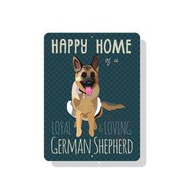 Independent German Shepherd Sign