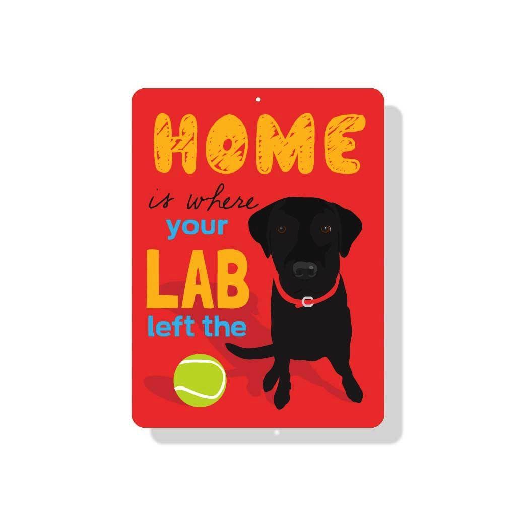 Independent Black Lab Sign