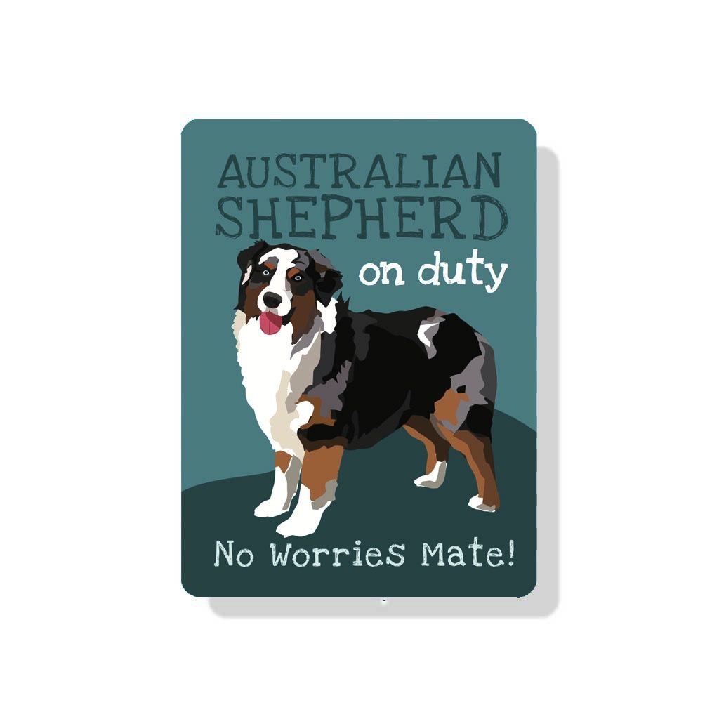 Independent Merle Aussie Sign