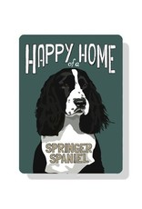 Independent Springer Spaniel Sign