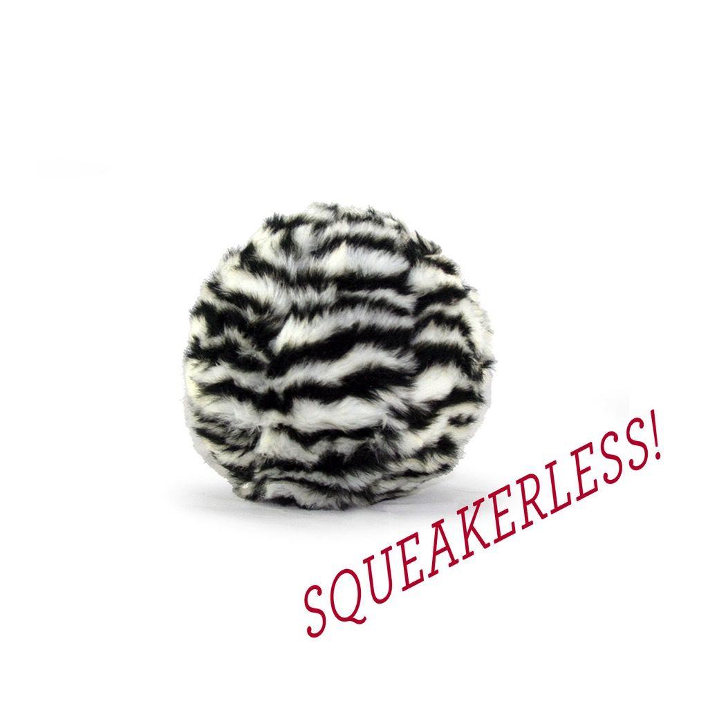 Fluff & Tuff, Inc Fluff Zebra Ball Lg